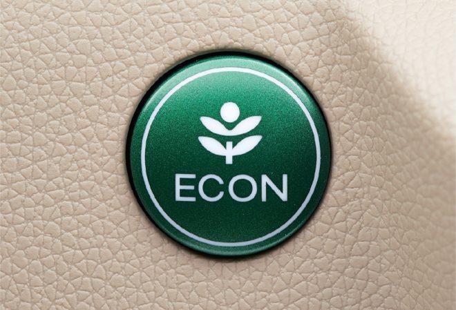 Режим N-ecology ECON. Экономия топлива