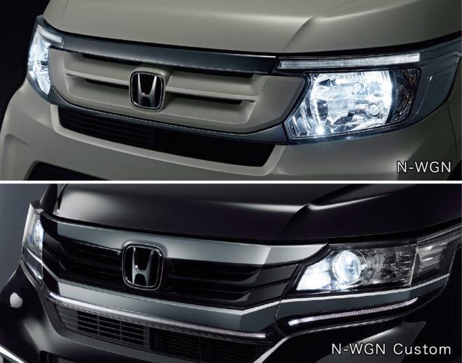 Ксеноновые фары Honda N-WGN