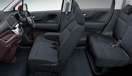 Салон и сиденья Honda N-WGN Custom G