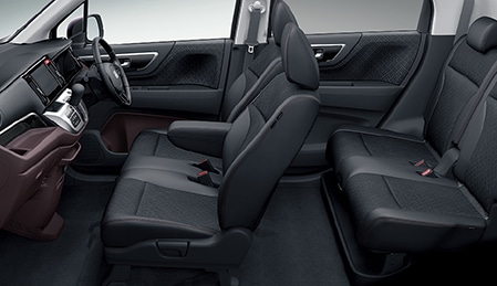 Салон и сиденья Honda N-WGN Custom G/A