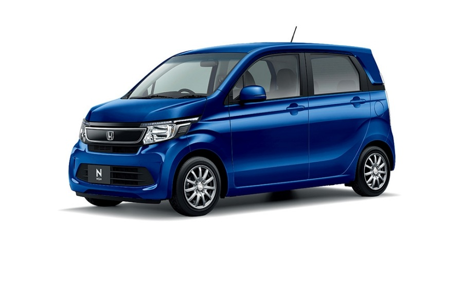 Honda N-WGN Stylish Package Синий металлик