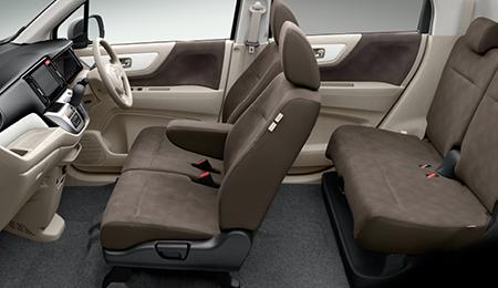 Салон, сиденья и дверные карты Honda N-WGN Comfort Pakage