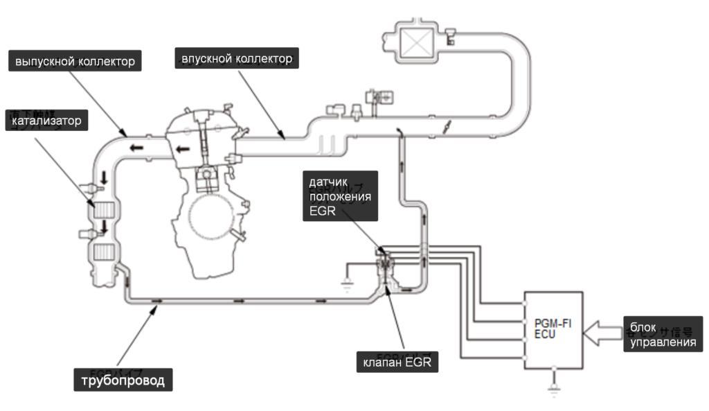 Схема ЕГР